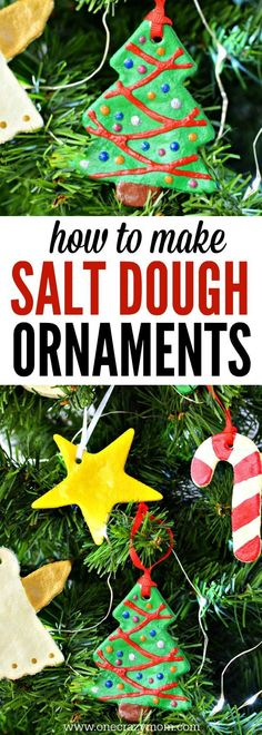Make special memories with these easy Salt Dough Ornaments. You will cherish them every year. Salt dough recipes are so easy! The entire family can help!