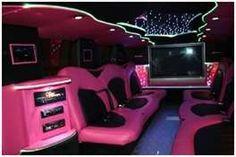 Interior (Pink) Limo