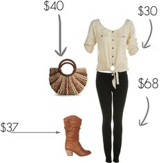 style on a budget, created by chloeorr on Polyvore