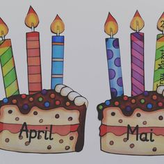 Die Vorbereitungen für das nächste Schuljahr gehen los :) Geburtstagskalender ✔️ Die Idee habe ich schon ganz oft hier auf Instagram gesehen. Danke dafür! :) #grundschule #sommerferien #Ref #geburtstagskalender #katehadfielddesigns