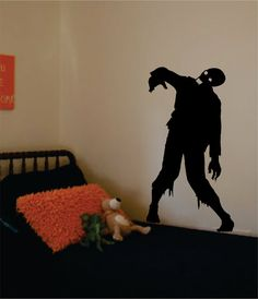 Hey, I found this really awesome Etsy listing at https://www.etsy.com/listing/162344751/zombie-decal-sticker-vinyl-wall-art-kid