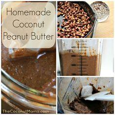 Homemade Coconut Peanut Butter