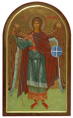 Archangel Michael by Paola Morandi Archangel Michael, Religious Icons, Orthodox Icons, Christ, Saints, Album, Painting, Hearts, Quotes
