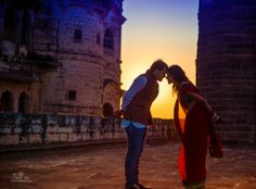 Shoot done for a lovely couple at Mehrangarh Fort, Jodhpur!