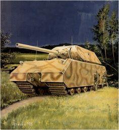Panzerkampfwagen VIII Super Panzer V1 «Maus»