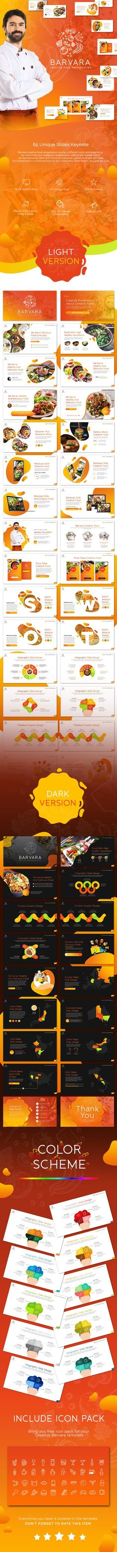 Buy Barvara Food Presentation Template by Slidesignus on GraphicRiver. Description : The best templates for your Food Presentation, minimalist, elegant, and certainly professional, so your. Creative Powerpoint Templates, Best Templates, Powerpoint Presentation Templates, Keynote Template, Text Pictures, Creative Pictures, Presentation Design, Light In The Dark, Make It Simple