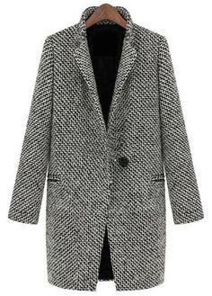 first rate a78d0 34a04 Long Sleeve Turndown Collar Coat Jean Jacka Outfits, Gulliga Kläder,  Vintermode, Byxor,