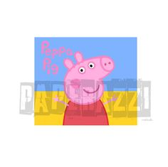 Peppa Pig SVG Electronic cutting files for Cricut Design Space - Silhouette Studio by PapperazziCo on Etsy