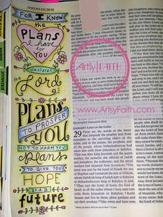 Artsy Faith: Jeremiah 29:11