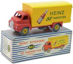 dinky toys...Bedford van, Heinz 57 varieties