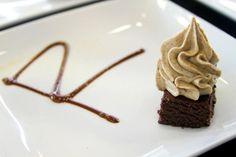 RAW mexican chocolate cupcake w/ habanero macadamia frosting