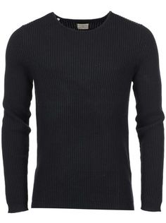 0e0b5535bfe Selected - Černý svetr Keen - 1