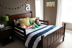 martha stewart paint - brook trout - love and lion: ARI'S TODDLER ROOM
