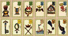Interprétation des cartes de l'oracle belline.