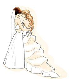 Love is Love by ~StephanyHardy lesbian cartoons #lesbian #lesbians