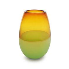caleb siemon amber and apple barrel vase