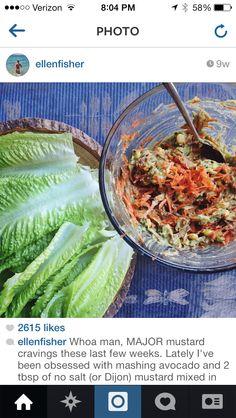 Dijon avocado tacos