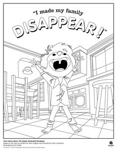 Just Coloring Pages: Home alone coloring pages Printable coloring sheets - Culkin was nominated for the Golden Globe Award for Best Actor – Musical or Comedy, and the film was nominated for two Academy Awards: Best Original S. House Colouring Pages, Coloring Books, Coloring Pages, Christmas Movie Night, Christmas Home, Golden Globe Award, Golden Globes, Chris Columbus, Printable Coloring Sheets
