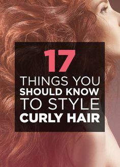 curly hair, do care
