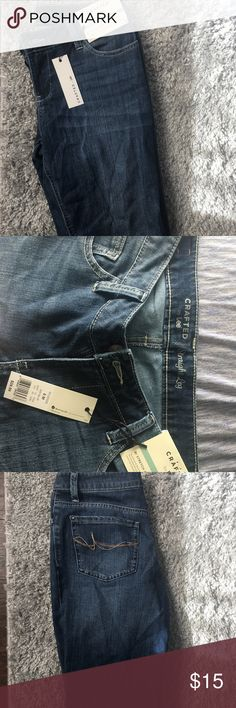 Lees Jeans Straight leg lees jeans. Brand new with tags. Too small for me! Stretchy material. Lee Jeans Straight Leg