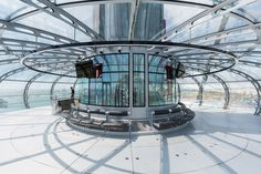 i360 british airways observation tower designboom