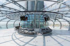 i360 british airways observation tower designboom