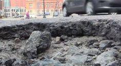 Video: #RIpothole ~ potholes all around
