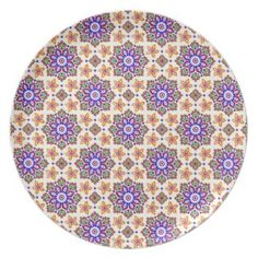 Moorish Pattern Plate. #designinspiration #patterns #originalpatterns