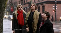 Emma, Mr. Gold and Henry just before finding Neal  OUAT