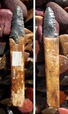 Ancient Inuit / Eskimo artifacts from Alaska.