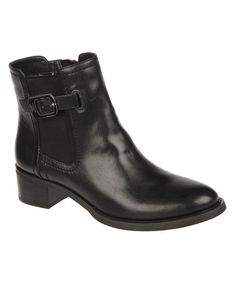 Take a look at this Black Carlton Ankle Boot by Etienne Aigner on #zulily today!
