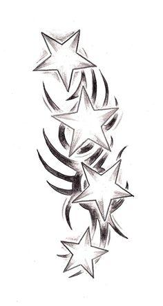 bbdabcbb0 Tribal Stars by TashiTam on DeviantArt. Tattoomaze · Tribal Star Tattoo  Designs