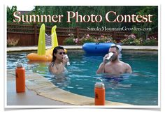 2017 Summer Photo Contest - Over $300 in Prizes  Enter your favorite photos with Smoky Mountain Growlers Products  Email submissions with your name and phone number  growlin@smokymountaingrowlers.com  Subject: 2017 Photo Contest  All entries must be received no later than July 31, 2017 11:59pm EST