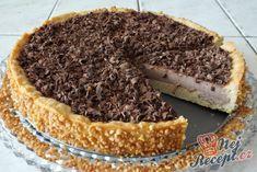 Čokoládový (panna cotta) dort | NejRecept.cz Panna Cotta, Tiramisu, Caramel, Cheesecake, Food And Drink, Sweets, Snacks, Cooking, Ethnic Recipes