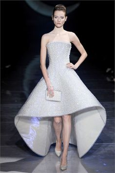 Armani Wedding Dresses. I could work with something like this.