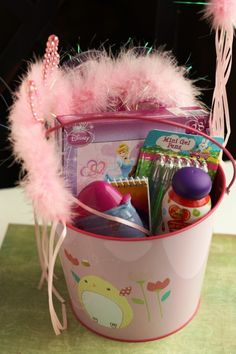 I LUV making my kids personal Easter baskets..then after Easter we go pick a few generic ones out when they go on clearance, lol