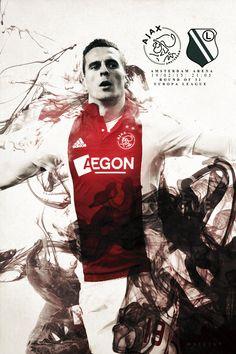 POST FROM 19/02/15Europa League time! AFC Ajax - Legia Warszawa ! Good luck Arek Milik and to Legia.