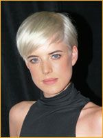 Agyness and her famous short pixie hair cut in blond hair color styled in 4 different looks Short Pixie, Short Cuts, Pixie Hairstyles, Pixie Haircut, Love Hair, Great Hair, Platinum Pixie, Bad Hair Day, Hair Inspiration