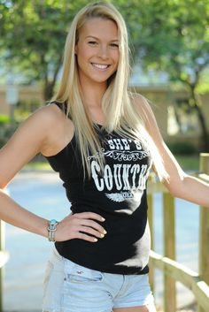$24.99  SHE'S COUNTRY Black tank top Shop Simply Me Boutique Country Junkie – www.SHOPSIMPLYME.com    #shopsimply