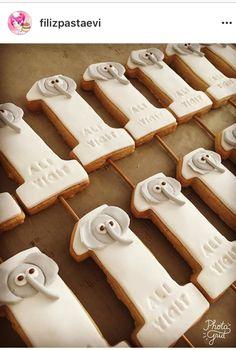 Safari temalı kurabiye