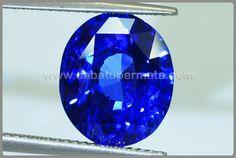 Batu Mulia TOP Royal Blue SAFIR Cristal crylon Sri Lanka