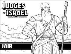 The Judges Of Israel Jair Judges Of Israel Kids Sunday School