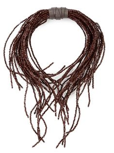 Колье Brunello Cucinelli, 191001. Купить колье Brunello Cucinelli 97220 в интернет-магазине | Cashmere