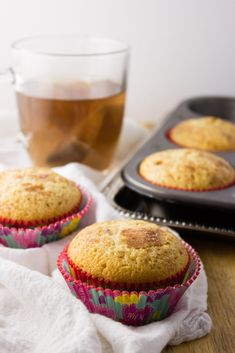 Coffee Cake Muffins – This small batch of muffins transforms classic coffee cake with a cinnamon streusel topping in the center for the perfect treat.