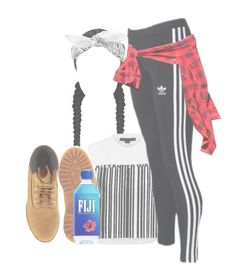 """""""Sem título #902"""" by idc-baby ❤ liked on Polyvore featuring Biala, Alexander Wang, Timberland and adidas Originals"""