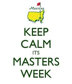 Nothing calm about this sunday at #augusta #masters