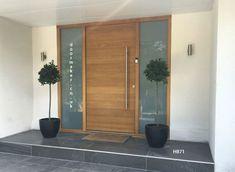 contemporary front door, contemporary doors oak, modern front doors, modern entrance doors, contemporary front doors by hajohesse Modern Entrance Door, Unique Front Doors, Best Front Doors, Contemporary Front Doors, Double Front Doors, Modern Front Door, Front Door Entrance, House Front Door, House Doors