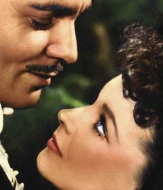 Clark Gable and Vivien Leigh, Gone With The Wind.