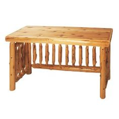 You'll love the Traditional Cedar Log Writing Desk at Wayfair - Great Deals on all Furniture products with Free Shipping on most stuff, even the big stuff.