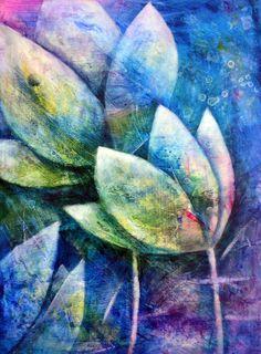 Acrylmalerei - Auswaschtechnik - Teil 1